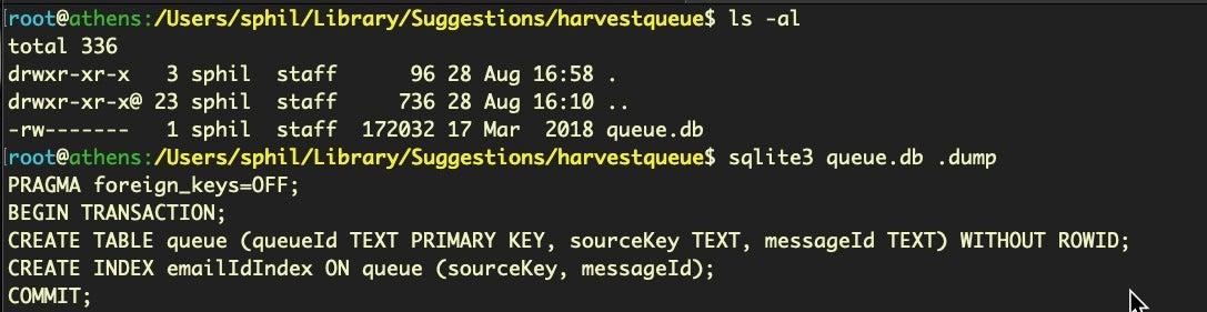 image of harvestqueue