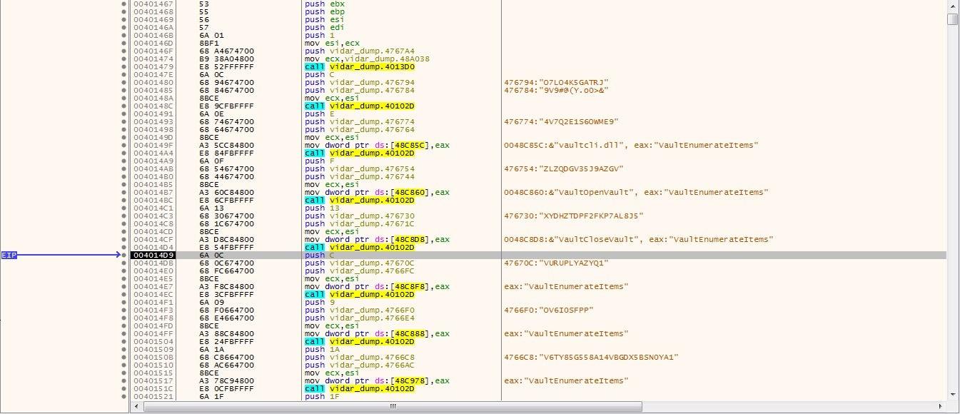 image of Vidar info stealer img3