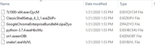 image of snake file extensions
