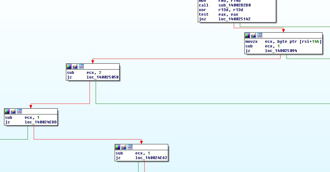 Image6: Parse response command byte