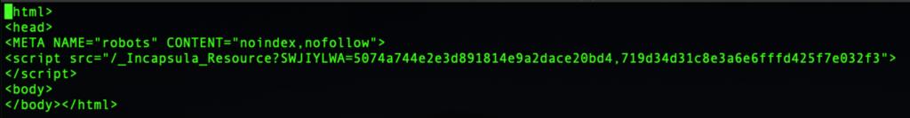 image of suspicious file on c2 server