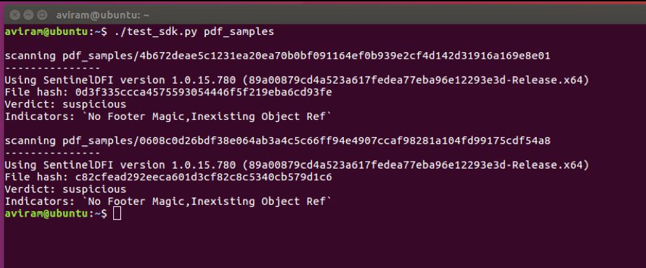 SentinelOne Detects New Malicious PDF File