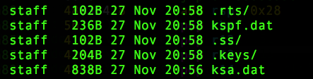keylogger binary plist files