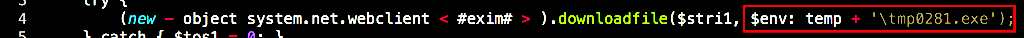 image of saving to temp file