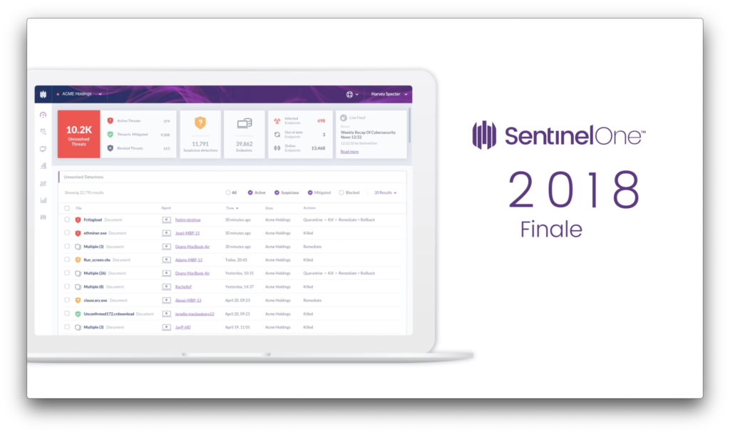 Image of SentinelOne Product Review