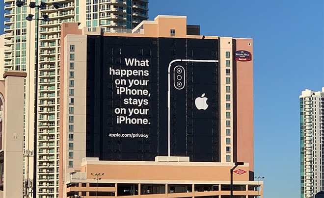 image of apple privacy poster