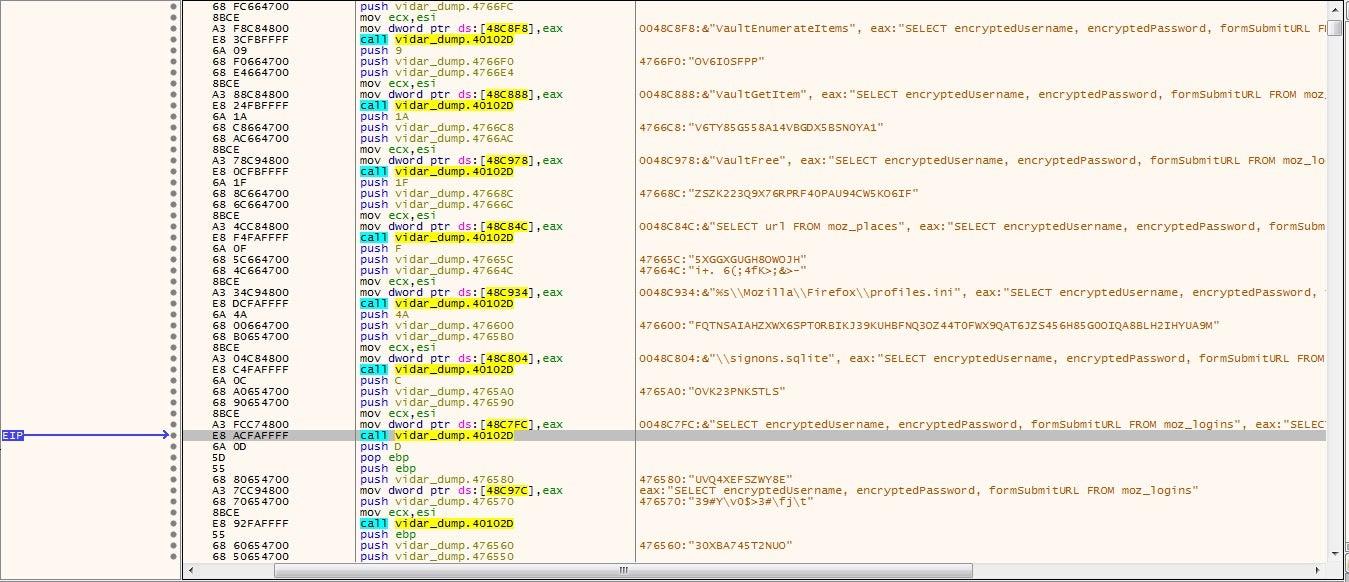 image of Vidar info stealer img4