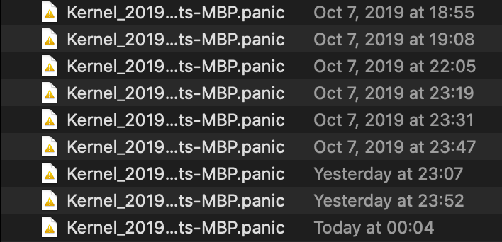 image of kernel panic
