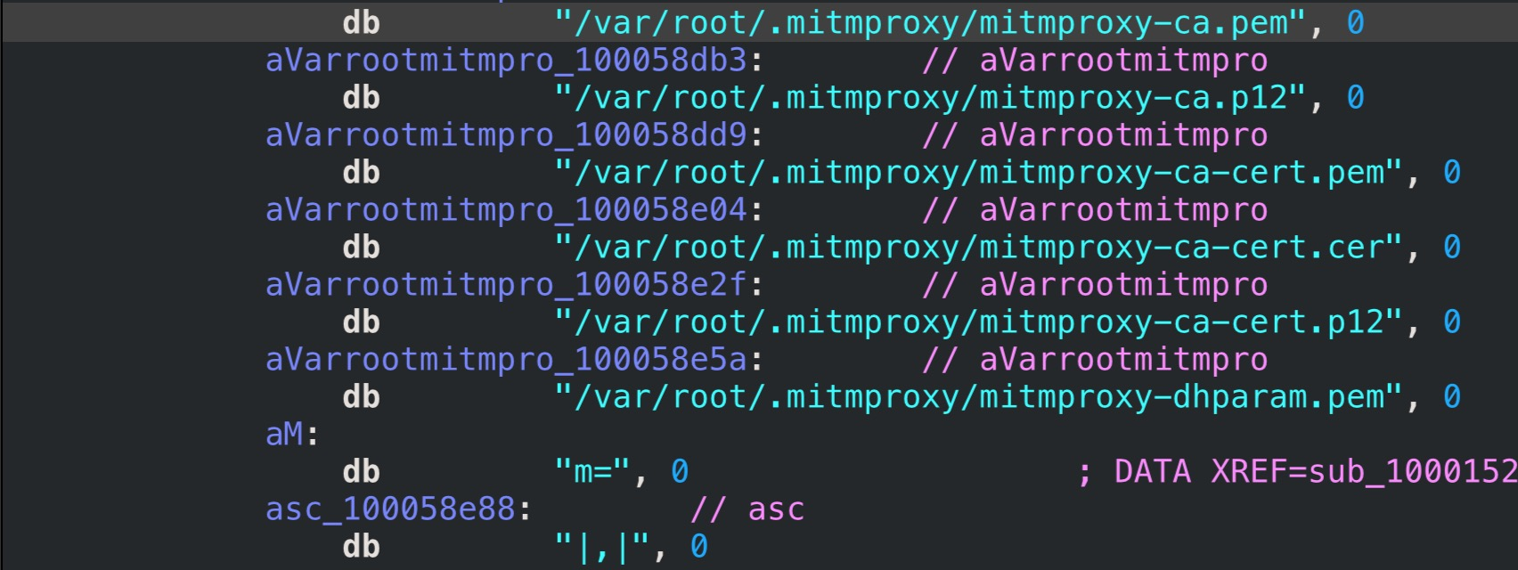 image of mitmproxy