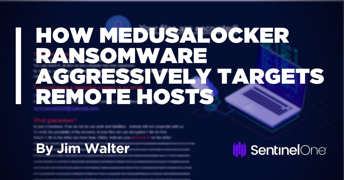 image of medusa locker ransomware