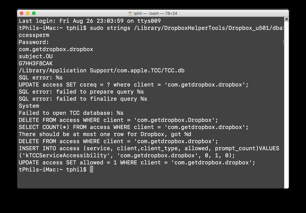 image of dropbox hack
