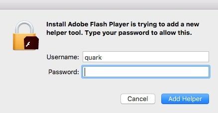 image fake installer dialog box