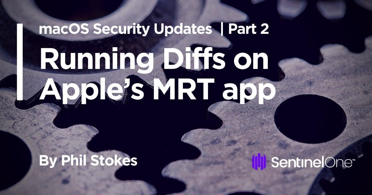 image running diffs MRT