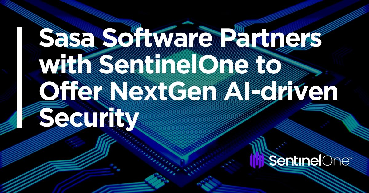 image of Sasa partners with Sentinel One