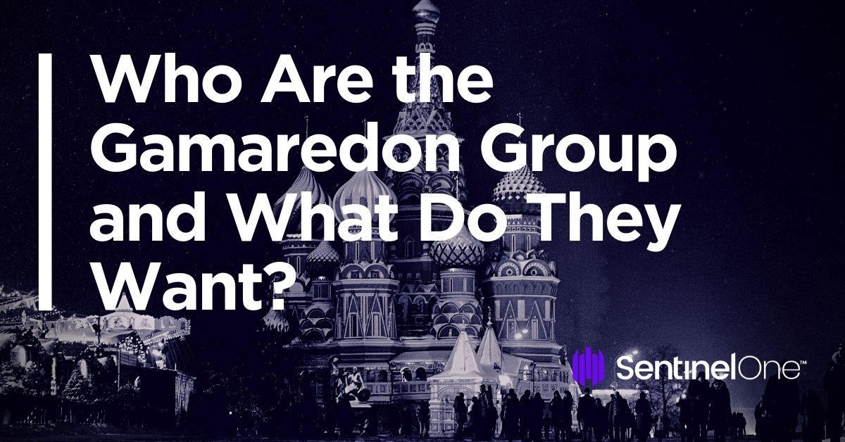 image of Gamaredon group