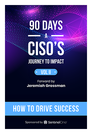 90 Days  A CISO S JOURNEY TO IMPACT VOL II HOW TO DRIVE SUCESS 4661c63e084
